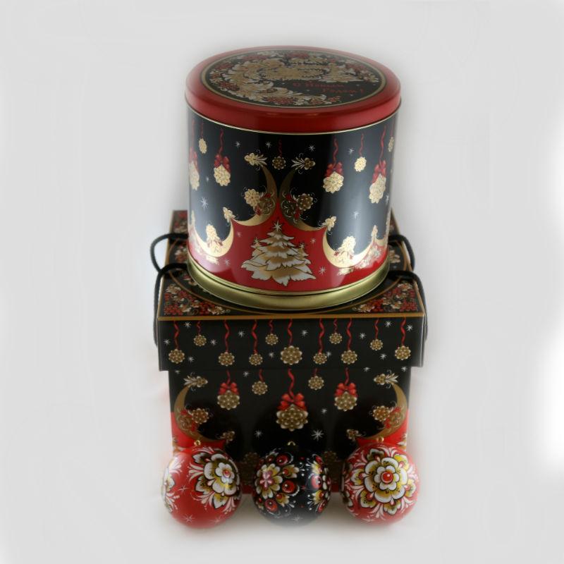 Набор подарочный (Шкат. муз.+3 шара) 8353 (В.к.)